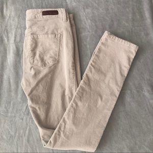 Calvin Klein Jeans Size 27 Tan Corduroy Pants